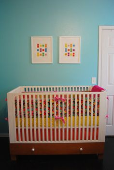 Love the colours: Poppies Candy Land Room modern kids