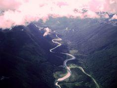 Erman Akdogan by River Run - Mountain Scenery Photography