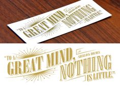 Well Read: Letterpress Bookmarks by Tracie Ching