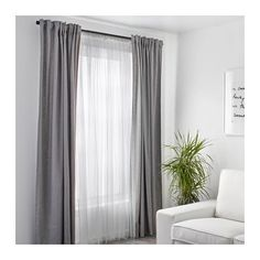 IKEA - ALVINE SPETS, Net curtains, 1 pair, The net curtains let the daylight through but provide privacy so they are perfect to use in a layered window solution.The slot heading allows you to hang the curtains directly on a curtain rod. Layered Curtains, Lace Curtains, Curtains With Blinds, Double Curtains, Blackout Curtains, Curtain Panels, White Sheer Curtains, Vintage Curtains, Short Curtains