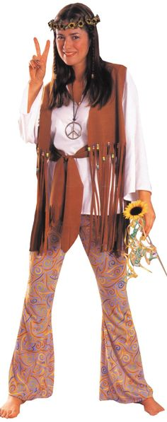 HIPPIE LOVE CHILD ADULT