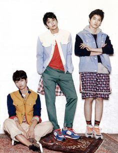 N, Leo, Hyuk ♡ #VIXX // Ceci Magazine January Issue '14