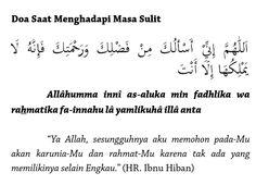 Doa saat menghadapi masa sulit Doa Islam, Allah Islam, Reminder Quotes, Self Reminder, Islamic Dua, Islamic Quotes, Pray Quotes, Life Quotes, Learn Islam
