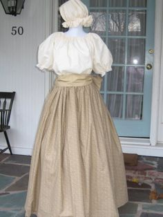 Womens Prairie Pioneer Colonial Dress Costume Skirt by countrybarn,