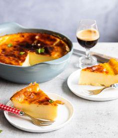 Flan, Cake Recipes, Dessert Recipes, Happy Foods, Pie Cake, Something Sweet, Greek Recipes, Cake Cookies, Food Inspiration