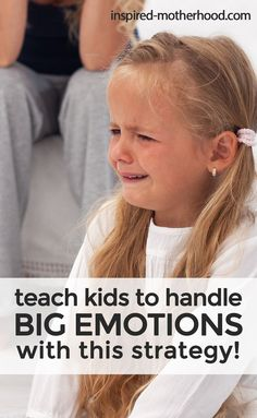 How to Help Kids Express Big Feelings! It's not easy when your child has a public meltdown. Here is a specific strategy for parents to teach their kids who have BIG emotions. Find an appropriate way to express negative emotions by using I-Statements. Kids And Parenting, Parenting Hacks, Parenting Classes, Parenting Plan, Practical Parenting, Mindful Parenting, Gentle Parenting, Natural Parenting, Parenting Workshop