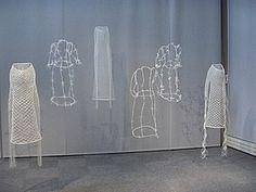 Espace pédagogique : arts plastiques - InSitu - dentelle et art contemporain