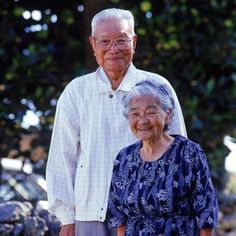 INVEST IN YOUR PARTNER -- Married people live up to 6 years longer than their single, divorced or widowed counterparts. A spouse is so important that when one dies after more than 50 years of marriage, the surviving spouse has a life expectancy of less than a year.  This Okinawan couple, where women live longest in the world, has been married 70 years. #BlueZones
