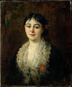 Portrait of a Woman - Carolus-Duran (1837-1917)