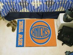 "NBA - New York Knicks Uniform Inspired Starter Rug 19""x30"""