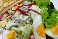 Viktória saláta