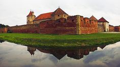 Fagaras Fortress in Brasov - Romania Brasov Romania, Visit Romania, Bucharest, Wonderful Places, Beautiful Places, Cool Places To Visit, Travel Destinations, Tourism, Scenery