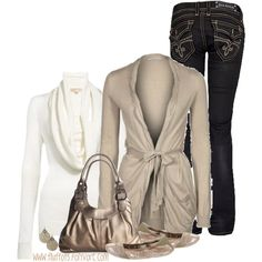 A fashion look featuring GAS Jeans tops, MICHAEL Michael Kors sweaters and Rock Revival jeans. Browse and shop related looks.