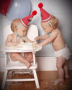 Twin Boys, Twin Brothers, Triplets, Twins, Baby Coming, Family Photography, Kid Stuff, First Birthdays, Birthday Ideas