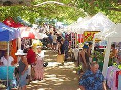 Eumundi Markets, Eumundi, Sunshine Coast #airnzsunshine