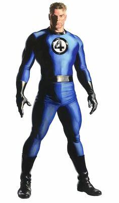 Mister Fantastic, Fantastic Four, Comic Art, Comic Books, Spiderman, Batman, Marvel Characters, Fictional Characters, Alex Ross