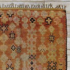 Found Moroccan Rug - Cross Patterned #WestElm