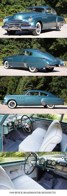 1949 #buick #roadmaster sedanette... Re-pin Brought to you by #HouseofInsurance in #EugeneOregon for #LowCostInsurance
