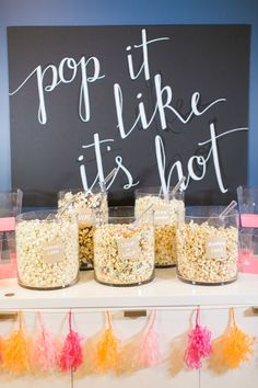 Pop it like it's hot! Photography: Ruth Eileen Photography - rutheileenphotography.com/   Read More on SMP: http://www.stylemepretty.com/living/2016/09/01/pancakes-and-pajamas-a-k-a-the-best-sleepover-party-idea-ever/