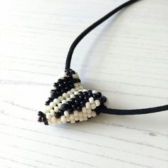 Hand Beaded Badger Necklace £18.00 Beaded Necklace, Beaded Bracelets, Badger, Sally, Seed Beads, Hands, Jewellery, Pretty, Pattern