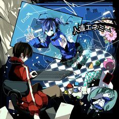 Shintaro and Ene [Kagerou Project]