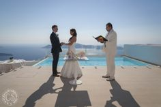 Luxury Weddings in Santorini - Maltese Hotel by The Bridal Consultant
