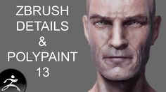 Zbrush Tutorial: Head Detail and Polypainting 13