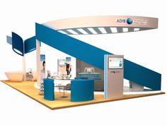 Exhibition Design - ADIB Banking Careers 2011 by HafidzMoro Moro at Coroflot.com