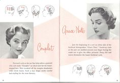 1950's Hair Setting Instructions
