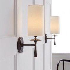 Aerin Drunmore Single Sconce Bronze Wall Light