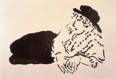 "David Hockney ""Celia"" (Celia Birtwell reclining), crayon lithograph."