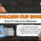 Volcano Interactive Notebook for organizing writing about science.  Learn and review key ideas and concepts related to the three main types of volcanoes.   Easy and challenging versions for differentiation.  7 pgs, 5-9.  From Addie Williams $