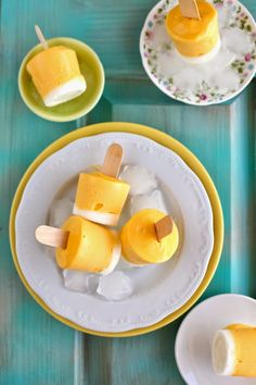 Frozen Yogurt, Fudge, Cantaloupe, Dairy, Sweets, Cheese, Cream, Fruit, Food