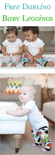 5 FREE Pairs of Fashion Baby Leggings! {just pay s/h} - these make the CUTEST gifts for Babies, too!