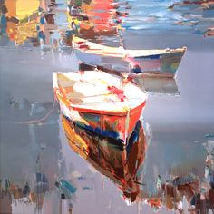 Cutter & Cutter Fine Art Galleries reflections in the water