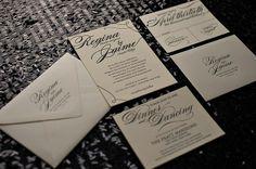 high end wedding invitations box | tie wedding invitations, high end wedding invitations, classic wedding ...