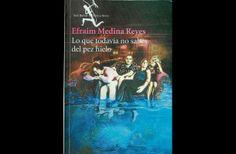 Portada de la nueva novela de Efraim Medina Reyes.