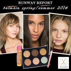 Balmain Spring/Summer 2014: The No Makeup Look (Flawless Complexion)  #luxielush #mua #beautyblog #vegan #makeupartist #beauty