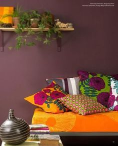 This is an example of the triadic color scheme. The colors used ...