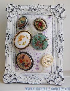 Vintage Brooch Display