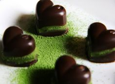 Green Tea Chocolate for Valentine's Day