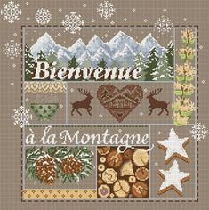 click here to view larger image of Bienvenue a la Montagne (chart)