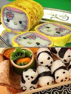 Creative Sushi Designs ♥