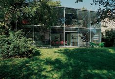 Hopkins House, Hampstead, London, 1976 — Michael and Patty. British Architecture, Architecture Details, Modern Architecture, Residential Architecture, Structural Expressionism, Hopkins Homes, Hopkins Architects, Metal Homes, Glass House
