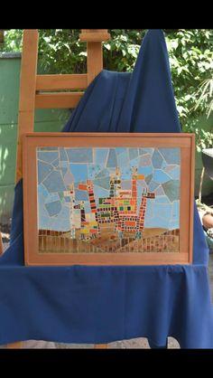 Llamas Precolombinas, por Mosaicos Trozos y Trazos