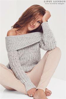 Gruby sweter Bardot Lipsy Love Michelle Keegan
