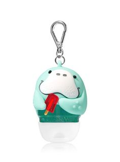 Wish this one was LED too! Happy Manatee PocketBac Holder - Bath And Body Works Beauty Routine Skin, Aloe Vera For Skin, Bath And Body Works Perfume, Hand Sanitizer Holder, Bath And Bodyworks, Wash Your Face, Skin Brightening, Skin Care Tips, Body Care
