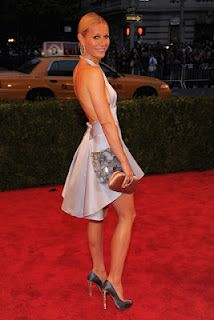 Gwyneth Paltrow wears Prada - Met Ball 2012