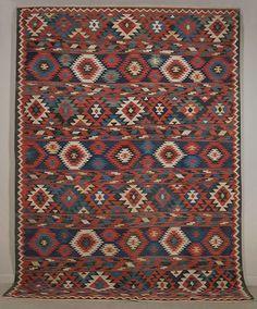 Shirvan Kilim  - Marla Mallett Textiles and Tribal Oriental Rugs