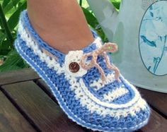 Instant download pdf file step by step instructions for Adult and Kids Cuffed Boots slippers. Pattern #12. (c) 2010  **Once payment is cleared, Etsy